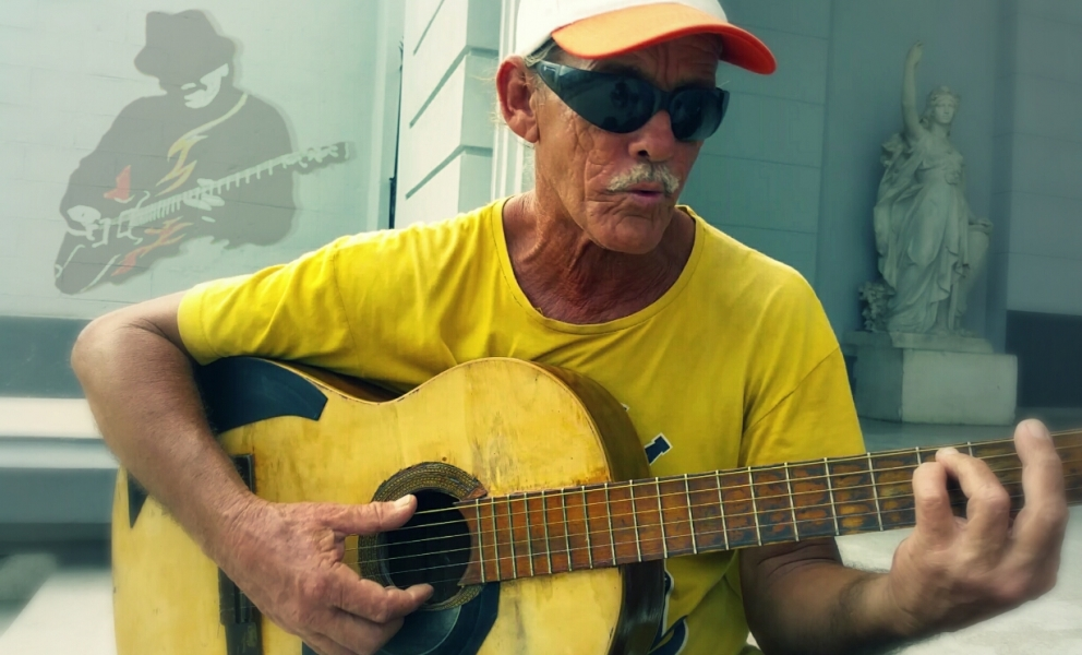 Cha-cha-cha Guitar with Rudy Daquin in Cuba